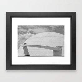 Niemeyer   architect   National Museum Framed Art Print