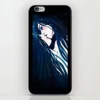 kiss iPhone & iPod Skins featuring Kiss by Varvara Gorbash