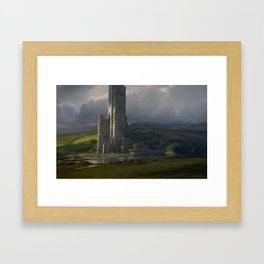 The Great Tower Framed Art Print