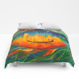 Romantic fish Comforters