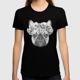 Pink Frenchie T-shirt