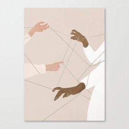 Wired Together Canvas Print