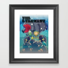 The Eternaut Framed Art Print