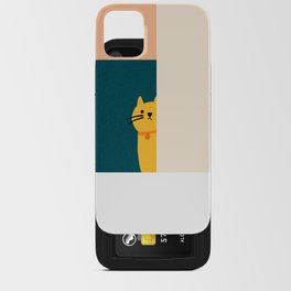 Little_Cat_Cute_Minimalism iPhone Card Case