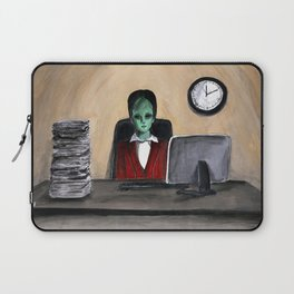 Alien on work 3 Laptop Sleeve