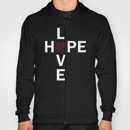Hope and Love intersect Hoody