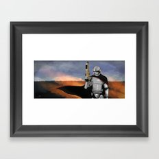 Captain Phasma Framed Art Print