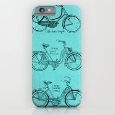 Vintage Ladies Bicycles Slim Case iPhone 6s