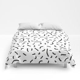 Memphis style pattern Comforters