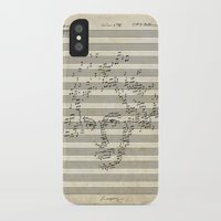 beethoven iPhone & iPod Cases featuring Beethoven by bananabread