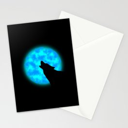 Howlin' Stationery Cards