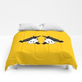 Toon Uzis Comforters