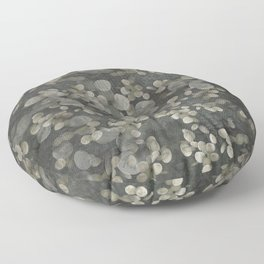 """Nacre pearls on silver river"" Floor Pillow"