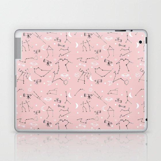 Astrology Pattern Pink #homedecor Laptop & iPad Skin