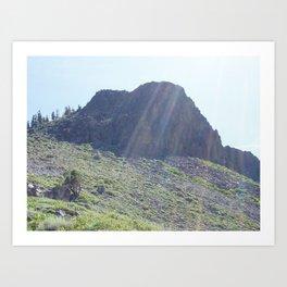 Sierra Nevada Mountaintop Art Print