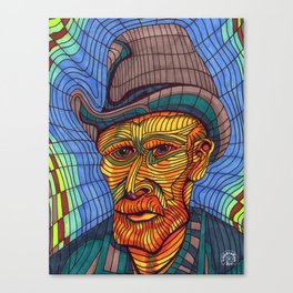 VINCENT VAN GOGH PORTRAIT Canvas Print