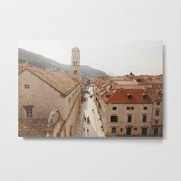 Morning in Dubrovnik Metal Print