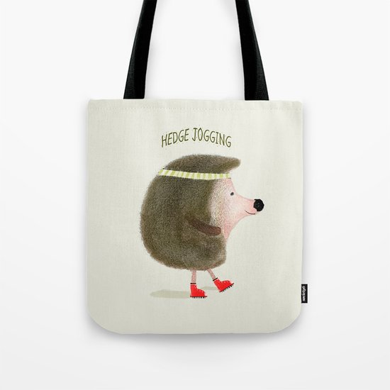 hedge jogging Tote Bag