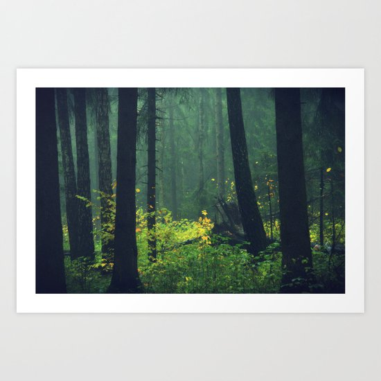 That forest Art Print