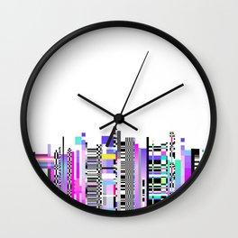 Glitch Ver.3 Wall Clock