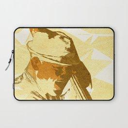 Jazz Contrabassist Poster Laptop Sleeve