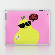 Pear Don't Care Laptop & iPad Skin