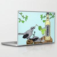 tequila Laptop & iPad Skins featuring Tequila Mockingbird by Emmalene Blake