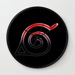 Konoha Symbol Wall Clock