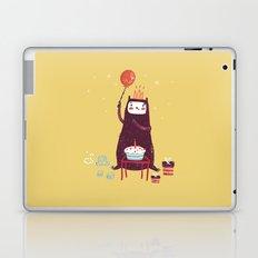 Happy birthday purple monster! Laptop & iPad Skin