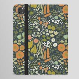 Botanical Sketchbook M+M Navy by Friztin iPad Folio Case