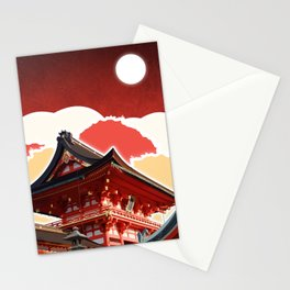 Night in Japan II Stationery Cards