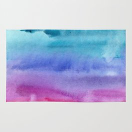 Watercolor vibes #7 Rug