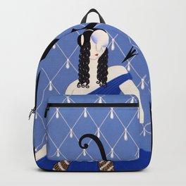 "Art Deco Theater Design ""Violetta"" Backpack"