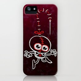 Stitched Man iPhone Case