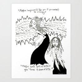 Ghoul Girlz Art Print