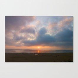 Sunset Santa Monica, California Canvas Print