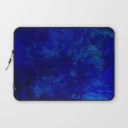 Blue Night- Abstract digital Art Laptop Sleeve