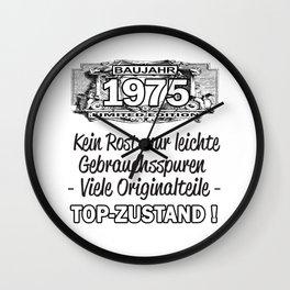 Baujahr 1975 TOP Zustand - kein Rost, viele Originalteile Wall Clock
