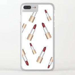 Lip Love Clear iPhone Case
