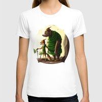 robin hood T-shirts featuring Robin Hood & Little John by Jehzbell Black