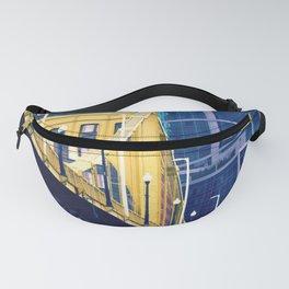 yellow steel > blue steel Fanny Pack