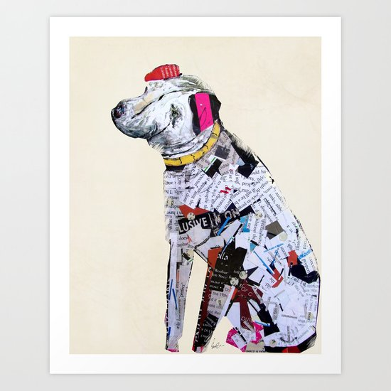 a dogs life (dogs Art Print