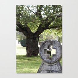 enjoy your visit Canvas Print