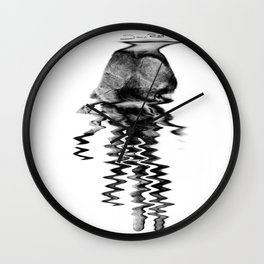 Hand of the artist Wall Clock