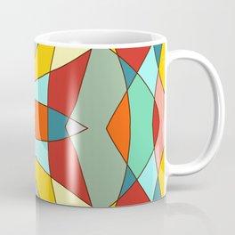 Retro Colored Mandala Coffee Mug