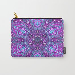Pink, Purple, and Blue Mandala Carry-All Pouch