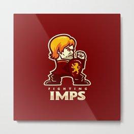 Fightin' Imps Metal Print