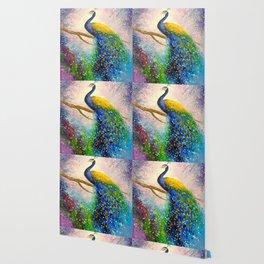 Gorgeous peacock Wallpaper