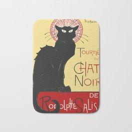 Tournee Du Chat Noir - 1896 Poster Bath Mat