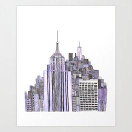 Doodle NYC Art Print